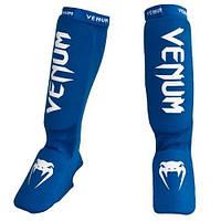 Защита голени Venum Kontact Shin and Instep Guards - Blue