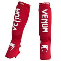 Защита голени Venum Kontact Shin and Instep Guards - Red