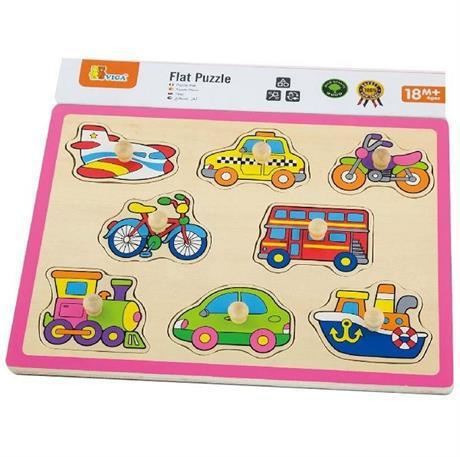 Пазл-вкладыш Viga Toys