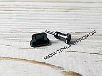 Комплект заглушек в разъем для наушников 3,5 мм и micro USB для смартфона Android, grey, серый, графит