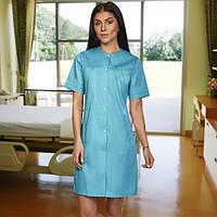 Молодежный медицинский коттоновый халат.Размеры 42 54, фото 1