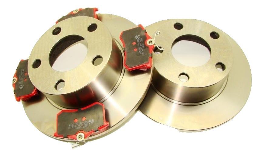 Тормозной диск+колодки для Audi A6 C5 Passat B5