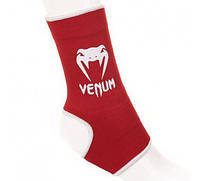 "Голеностоп Venum ""Kontact"" Ankle Support Guard - Muay Thai / Kick Boxing - Red"