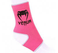 "Голеностоп Venum ""Kontact"" Ankle Support Guard - Muay Thai / Kick Boxing - PINK"