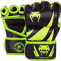 Перчатки MMA Venum Challenger MMA Gloves - Neo Yellow/Black