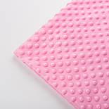 Плюш minky тёмно-розового цвета., фото 2