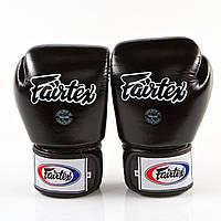 Перчатки тренировочные FAIRTEX TIGHT FIT UNIVERSAL MUAY THAI/BOXING GLOVES BLACK BGV1