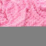 Отрез плюша minky М-66 тёмно-розового цвета 100*80 см, фото 2