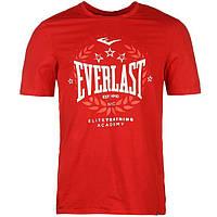 Футболка Everlast Logo T-Shirt Mens Red Laurel
