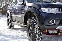 Розширювачі колісних арок (винос 60 мм) Mitsubishi Pajero Sport 2008-2013 р. в.