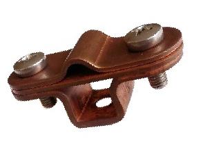 Тримач дроту металевий (мідь) код 02/8.3 Cu