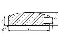 Профиль МДФ AGT 1003, фото 1