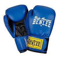 Перчатки тренировочные BENLEE ARTIF. LEATHER BOXING GLOVES RODNEY BLUE