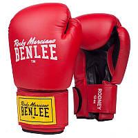 Перчатки тренировочные BENLEE ARTIF. LEATHER BOXING GLOVES RODNEY RED