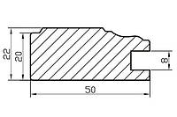Профиль МДФ AGT 130, фото 1