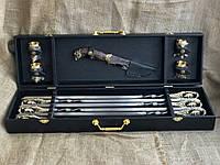 Набор шампуров с бронзовыми рюмками и ножом Люкс Nb Art 11 предметов 47330052