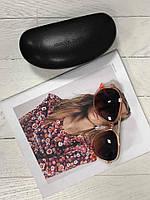 Женские оранжевые солнцезащитные очки Michael Kors (Б/У)