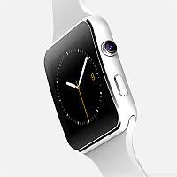 Умные часы Smart Noisy Watch X6 английский язык Белые (hub_hJPj00789)
