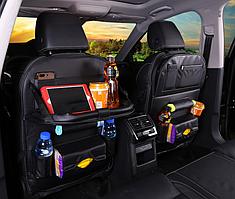 Чехол органайзер с подставкой на спинку сиденья в авто автомобиль