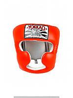 Шлем тренировочный YOKKAO ORANGE TRAINING HEAD GUARD