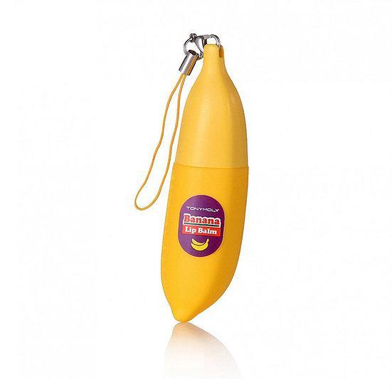 TONY MOLY Бальзам для губ Банан Delight Dalcom Banana Pong-Dang Lip Balm 7g