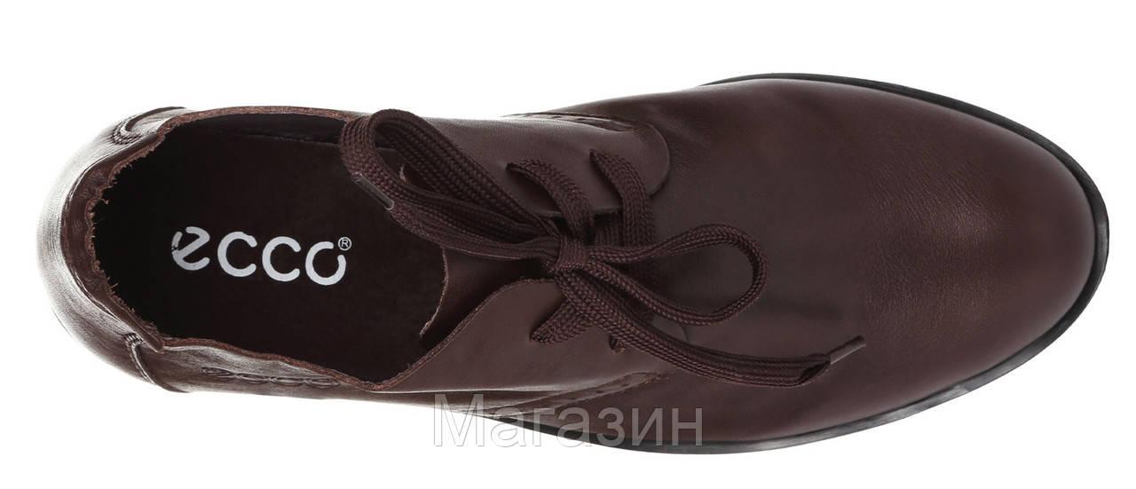35a4cd334 Мужские кожаные туфли ECCO Derby Brown (Экко) коричневые, цена 1 400 грн., купить  в Киеве — Prom.ua (ID#522728120)