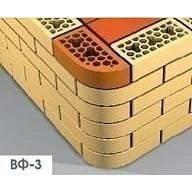 Лицевой фасонный кирпич СБК ВФ-3 1NF 250х120х65 мм красный классический, фото 2