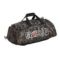 Сумка-рюкзак GR1PS BAG DUFFEL BACKPACK 2.0 WOODLAND CAMO