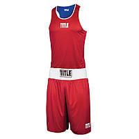 Форма боксерская TITLE REVERSE AEROVENT ELITE AMATEUR BOXING SET 1
