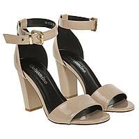 Босоножки женские Gelsomino (удобные, на высоком каблуке, стильные)