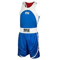 Форма боксерская TITLE REVERSIBLE AEROVENT ELITE AMATEUR BOXING SET 2