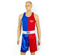 Форма боксерская ELAST VL-3063 (красно-синий)