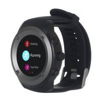 Фитнес устройства ERGO Sport GPS HR Watch S010 - Спортивные часы (Black)