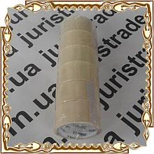 Скотч пакувальний прозорий 48 мм. * 100 м. ( 6 шт/уп.) Юріс
