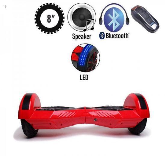 ГИРОСКУТЕР LAMBO LED MUSIC RED/BLACK (Led, Bluetooth, пульт, сумка) Classic