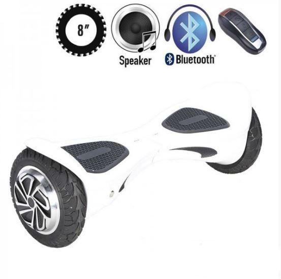 ГИРОСКУТЕР SMARTWAY X ONE WHITE (Led, Bluetooth, пульт, сумка) Classic