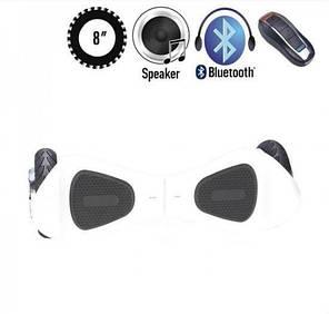ГИРОСКУТЕР SMARTWAY X ONE WHITE (Led, Bluetooth, пульт, сумка) Classic, фото 2