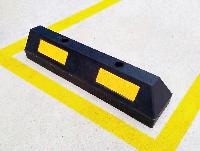 Колесоотбойник резиновый сборной РКС-01 концевой элемент 610х145х120мм
