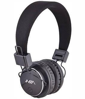 Наушники беспроводные Bluetooth NIA X3 Grey, фото 2