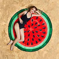 Пляжный коврик Пицца Hamburger Пончик Арбуз Кекс Отличный  вариант для отдыха на природе  Код: КГ5428