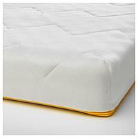 УНДЕРЛИГ Пенный матрас для детской кровати, белый, 70x160 см 30339392 IKEA, ИКЕА, UNDERLIG