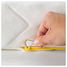 УНДЕРЛИГ Пенный матрас для детской кровати, белый, 70x160 см 30339392 IKEA, ИКЕА, UNDERLIG, фото 3