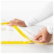 УНДЕРЛИГ Пенный матрас для детской кровати, белый, 70x160 см 30339392 IKEA, ИКЕА, UNDERLIG, фото 2