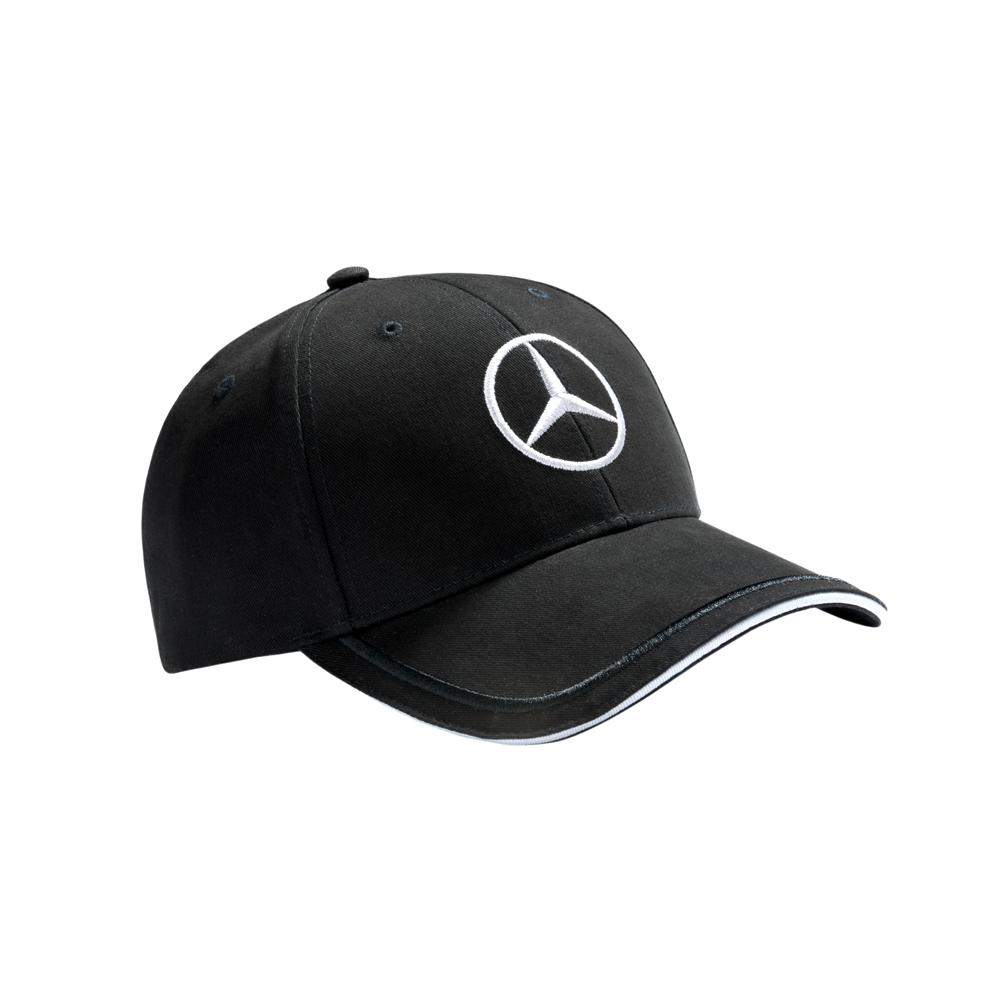 Бейсболка Mercedes Men's Cap Black, cotton,(B66953150)