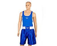 Форма боксерская EVERLAST 6011 (синий, реплика)