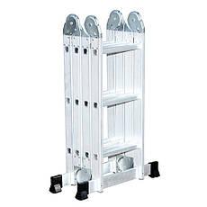 Лестница трансформер, шарнирная, 4х3М, Кентавр, фото 3