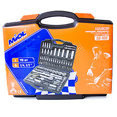 Набор инструментов 110 предметов Miol 58-100, фото 2