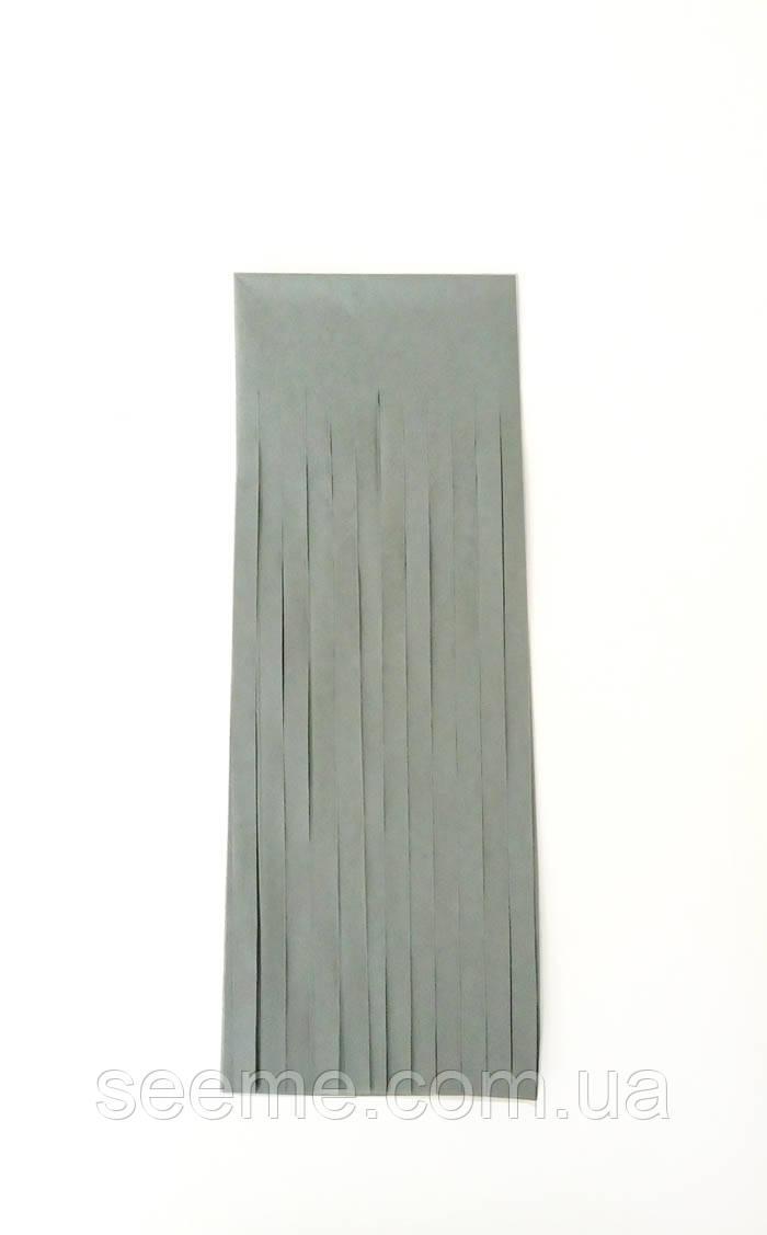 Бумажная гирлянда-кисточка из тишью «Gray», набор из 5 шт.