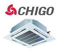 Кассетный кондиционер Chigo CCB-18HR1/COU-18HR1 LAK on/off