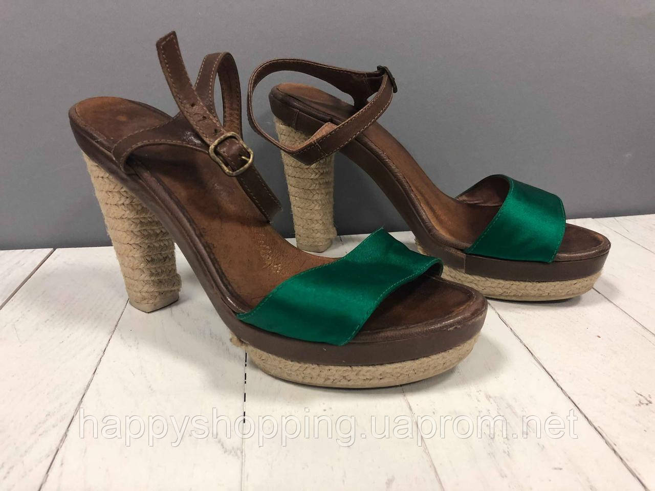 Женские босоножки на каблуке Dalson Espadrilles(Б/У)